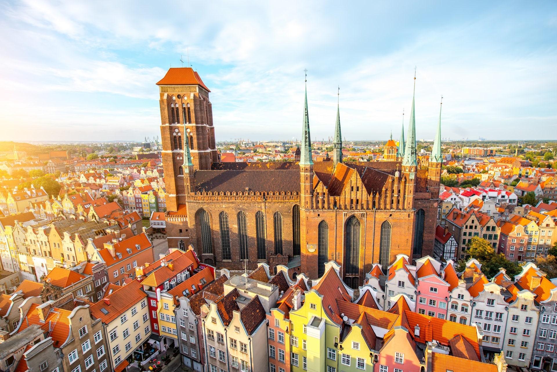 گدانسک (Gdansk) در کشور لهستان