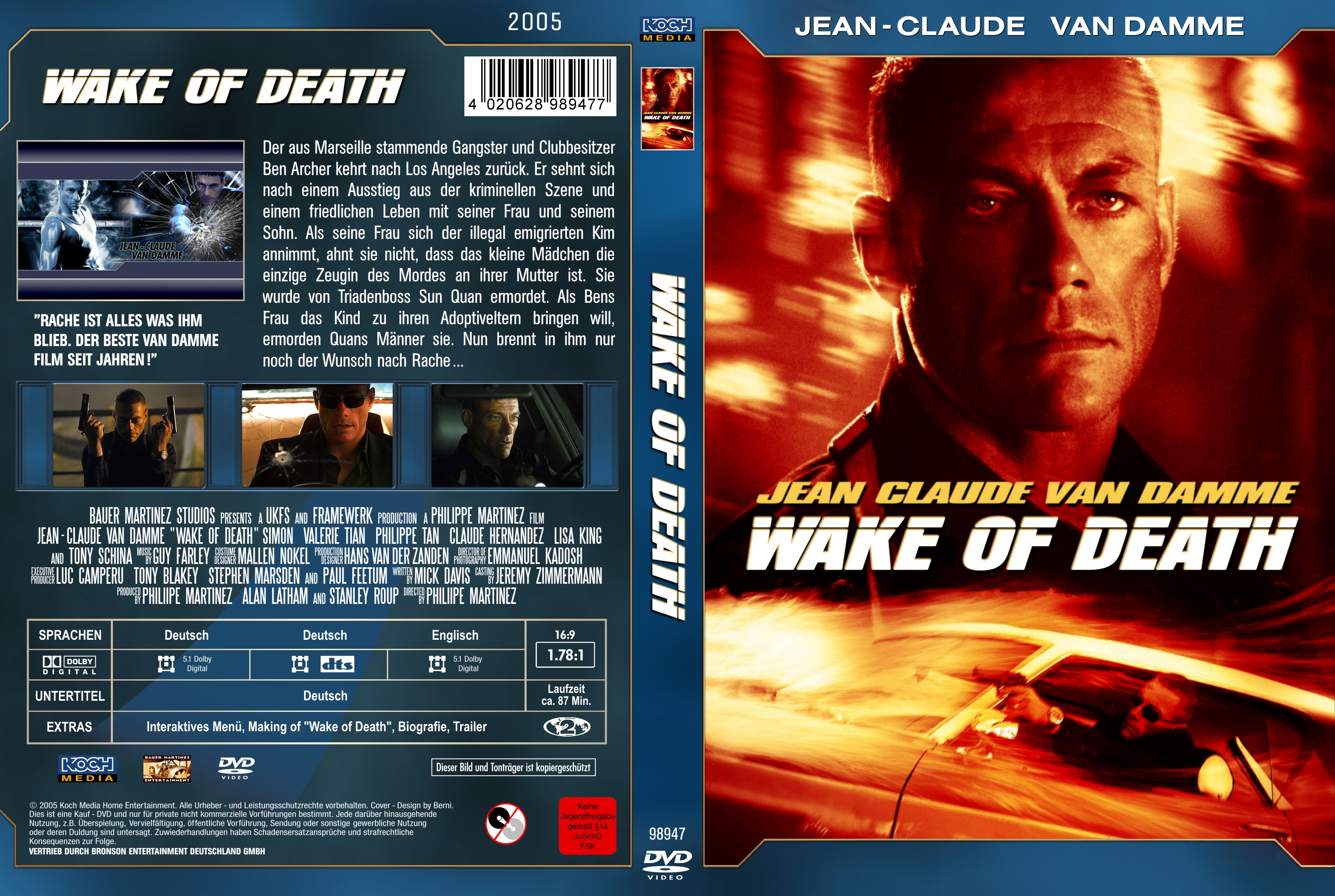 کاور فیلم Wake of Death