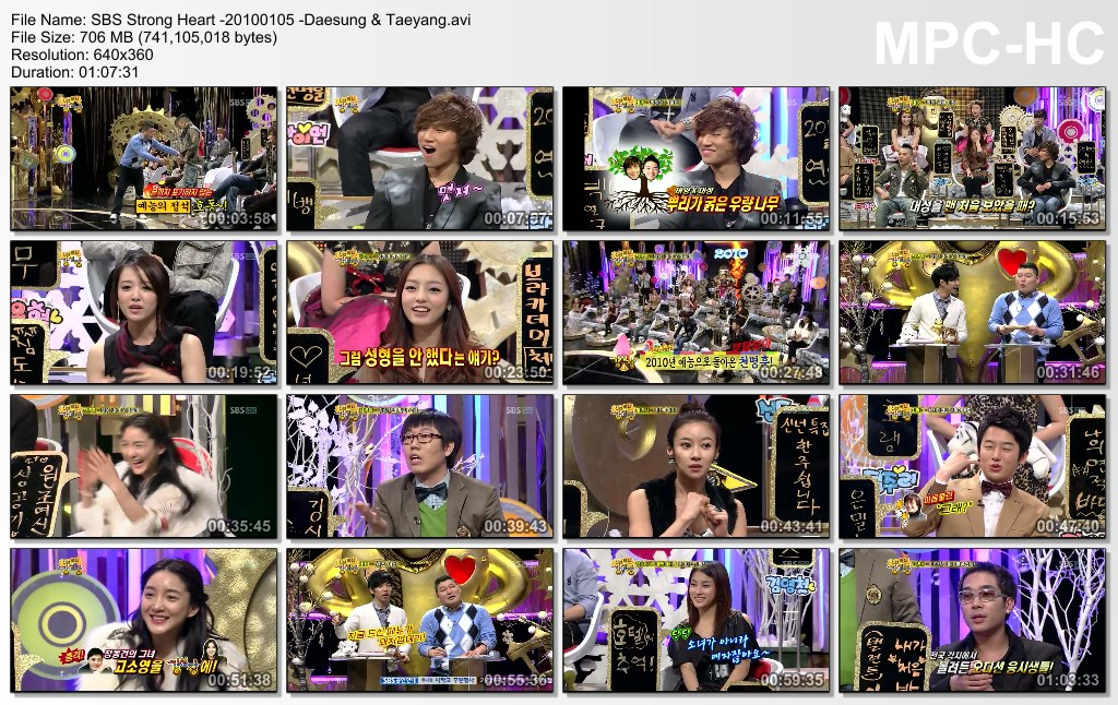 Strong Heart - Ep13 & Ep14 ft Super Junior (2010) [PerSub] - Blue Subs