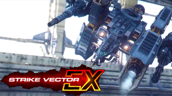 دانلود کرک بازی STRIKE VECTOR EX