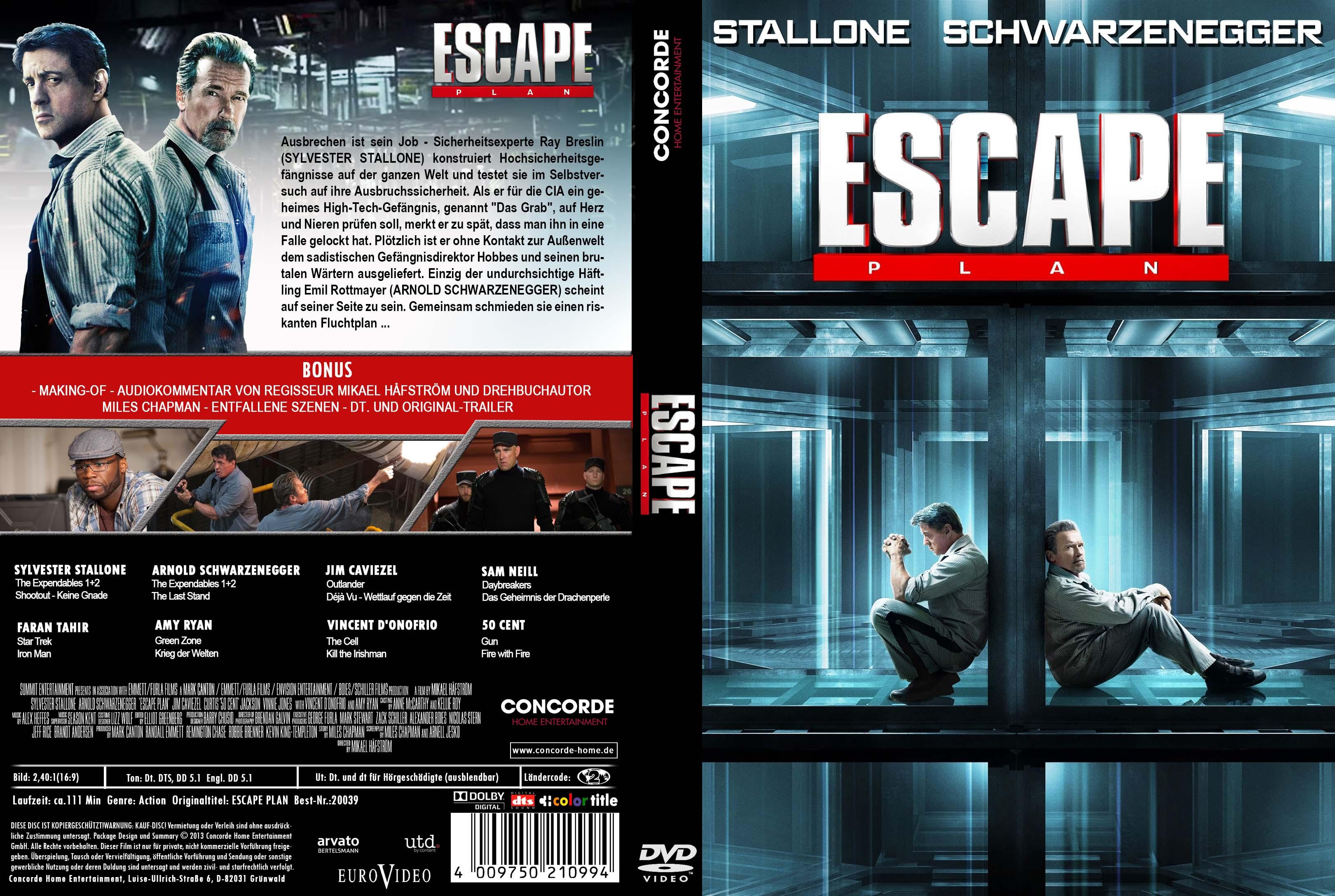 کاور فیلم Escape Plan