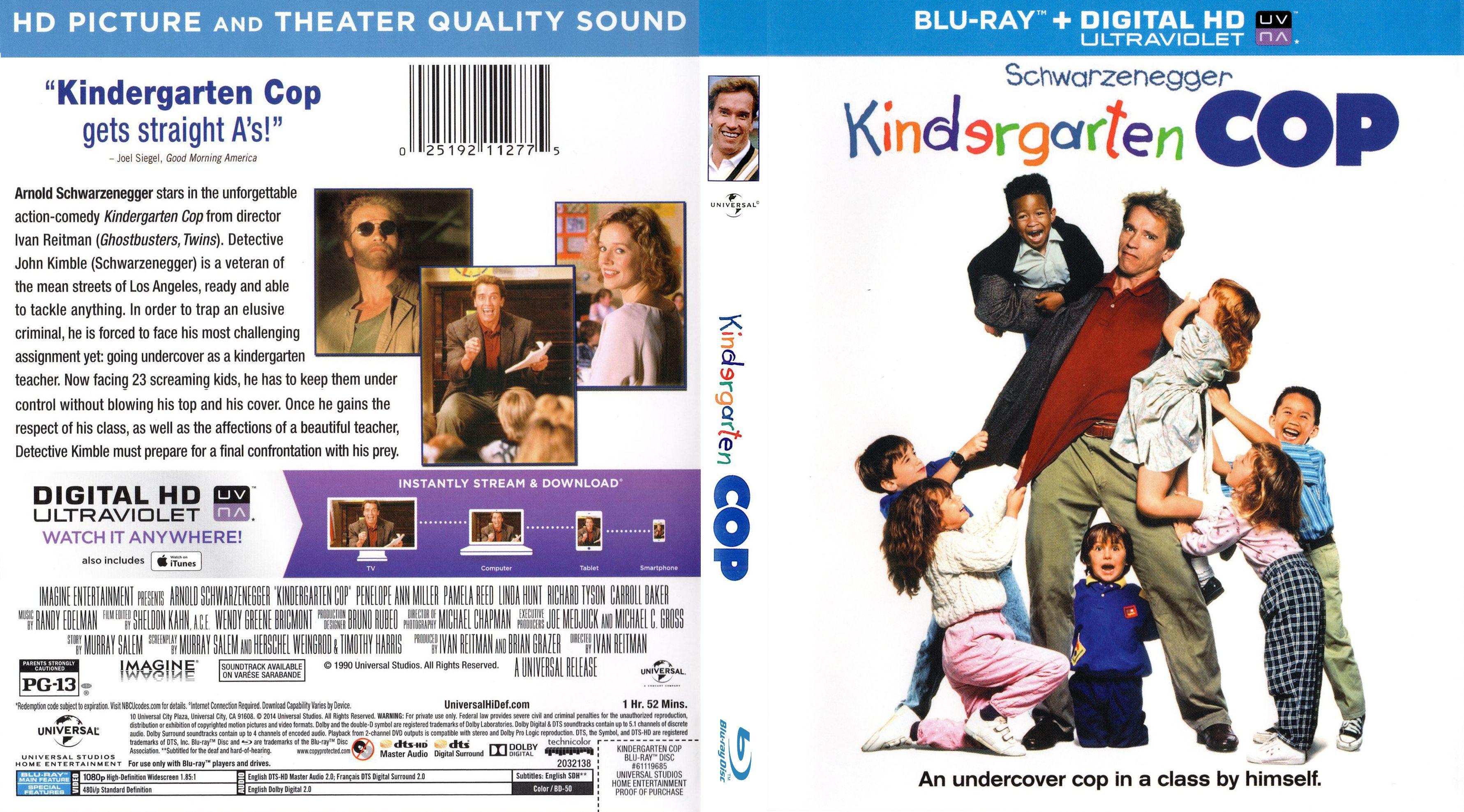 کاور فیلم Kindergarten Cop