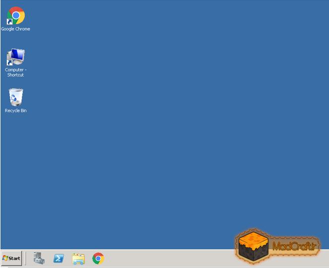 محیط یک وی پی اس ویندوز 2008