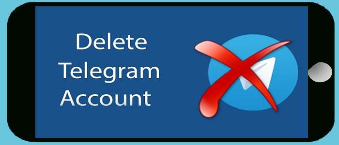 آموزش دیلیت اکانت تلگرام اندروید - حذف  کامل اکانت تلگرام