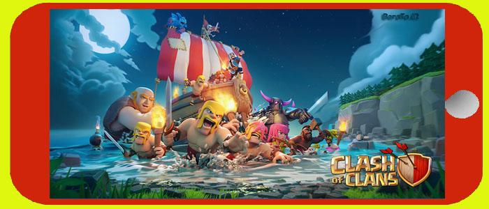 دانلود آپدیت جدید کلش اف کلنز برای اندروید Clash Of Clans 10.134.12