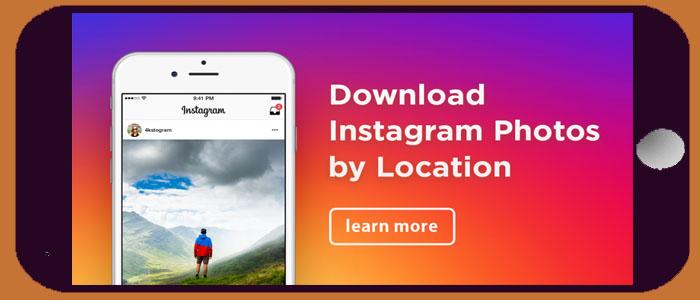 آموزش تصویری پیدا کردن تصاویر یک منطقه خاص در اینستاگرام
