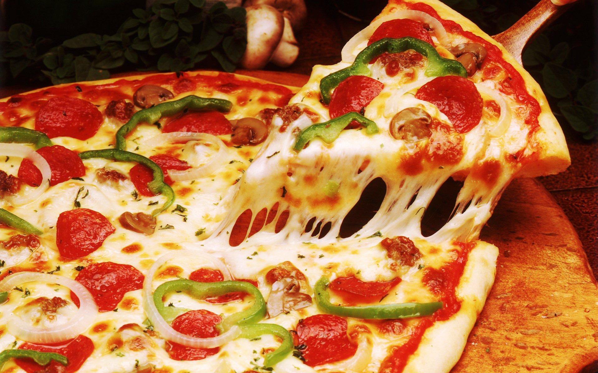 پیتزا خوشمزه