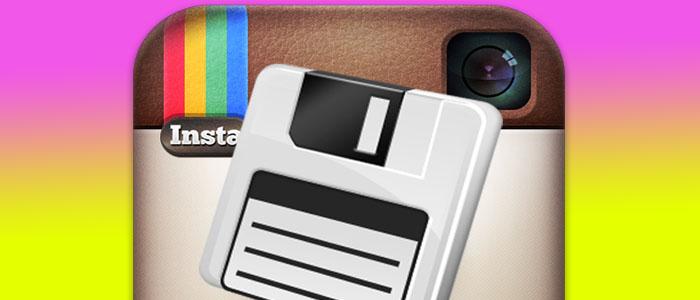 ذخیره عکس و فیلم اینستاگرام برنامه کمکی اینستاگرام