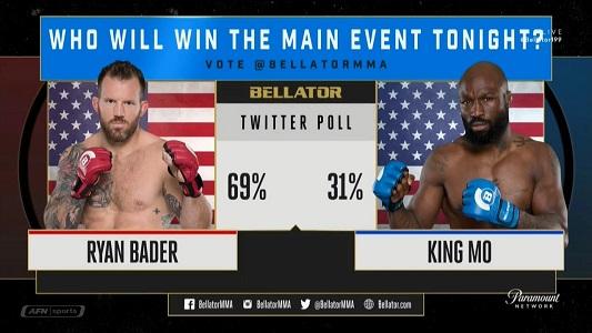 دانلود مسابقات بلاتور 199 |  Bellator 199: Bader vs. King Mo+تک مبارزه