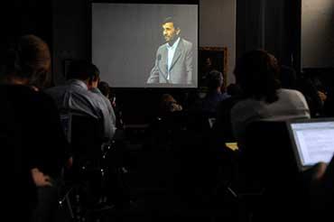 آیینه یزد - باز هم تکذیب ادعای احمدینژاد