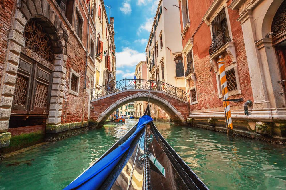 ونیز ایتالیا آب زیبا شهر زیبا جتذبه گردشگری