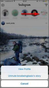 آموزش تصویری غیرفعال کردن بخش استوری در اینستاگرام