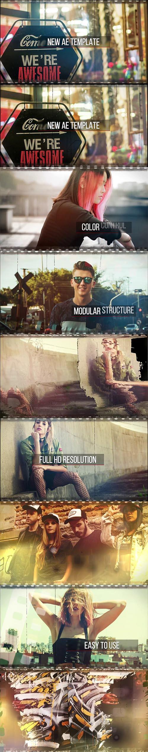 پروژه آماده افترافکت : MA Film Strip T.O