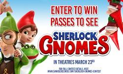 دانلود انیمیشن شرلوک گنوم - Sherlock Gnomes 2018