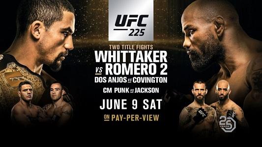معرفی رویداد بزرگ UFC 225 Whittaker vs Romero 2+نظرسنجی