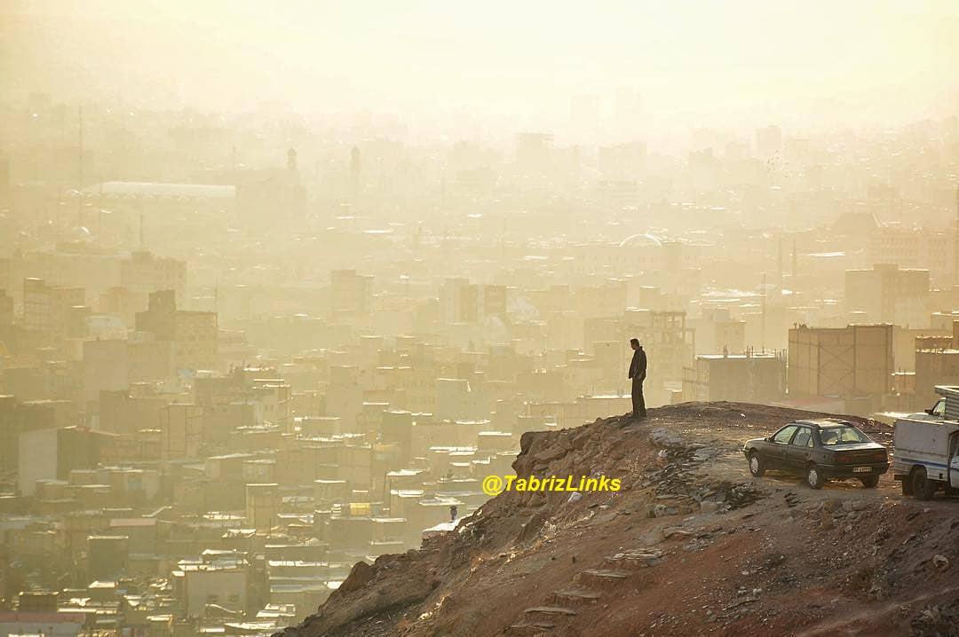شهر خاکستری تبریز