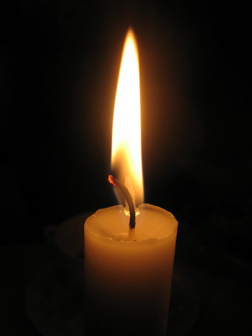 عکس شمع
