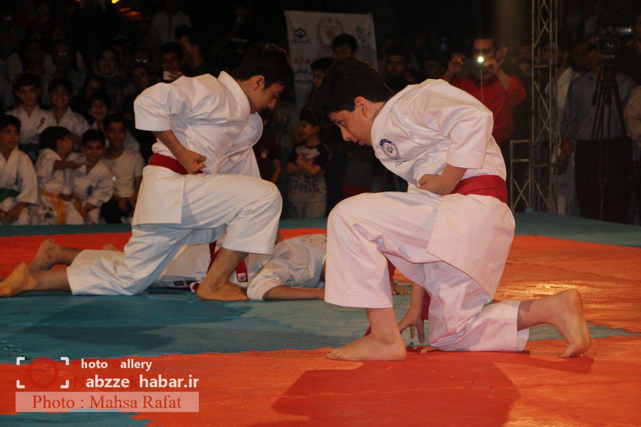 گزاش تصویری از مسابقات جام ستارگان کاراته آزاد