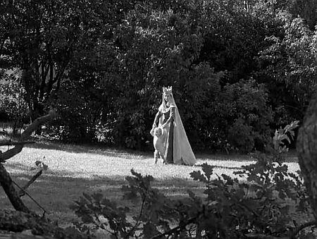 مریم مقدس در باغ