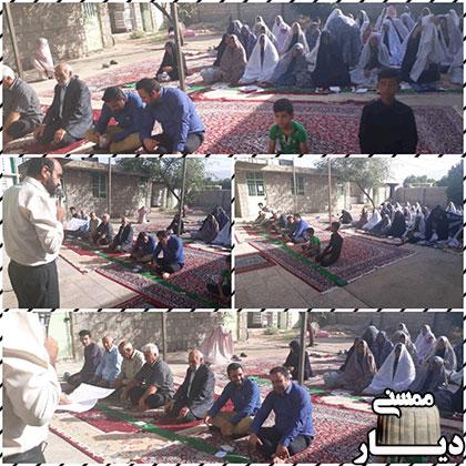نماز عید سعید فطر در شهرستانهای ممسنی و رستم
