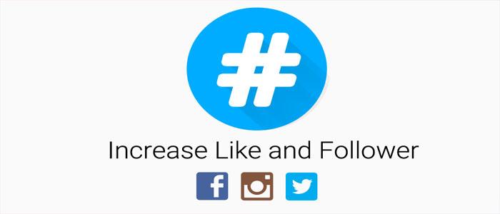 راهی آسان برای افزایش فالوئر با برنامه HashTags for Social Media