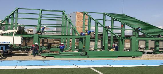 اختصاصی/ آخرین وضعیت بازسازی ورزشگاه وطنی