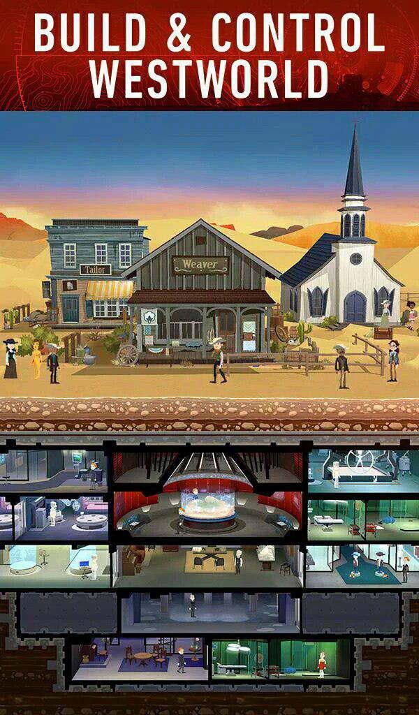 بازی وست ورلد (Westworld)