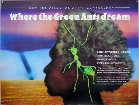جایی که مورچه های سبز خواب می بینند