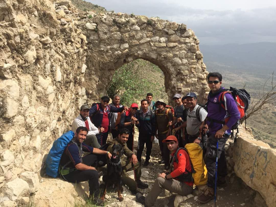 برنامه صعود به دژ سفید نورآباد