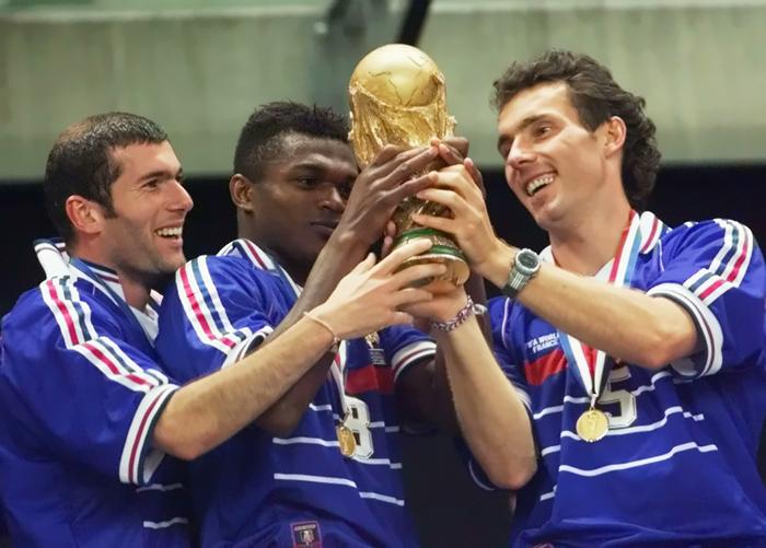 فرانسه قهرمان در جام جهانی 1998