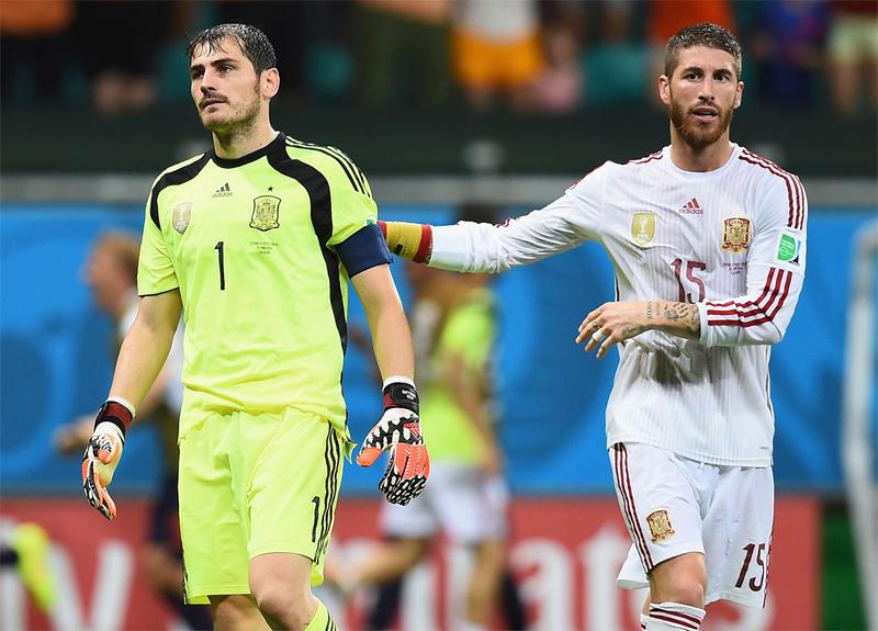 اسپانیای حذف شده در جام جهانی 2014
