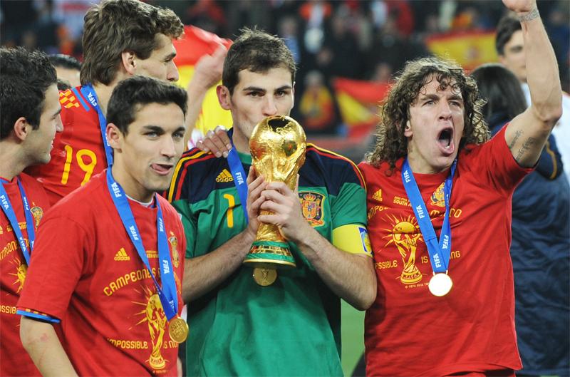 اسپانیای قهرمان در جام جهانی 2010