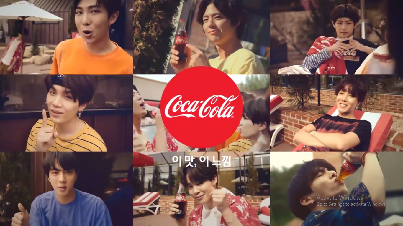 Untitled - کلیپ تبلیغاتی BTS و Park Bo Gum