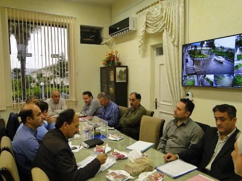 Iبرگزاري جلسه هم انديشي و ارزيابي عملكرد ، مراكز تكثير سه گانه  استان گيلان