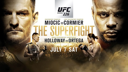 معرفی رویداد بزرگ UFC 226: Miocic vs. Cormier+نظر سنجی