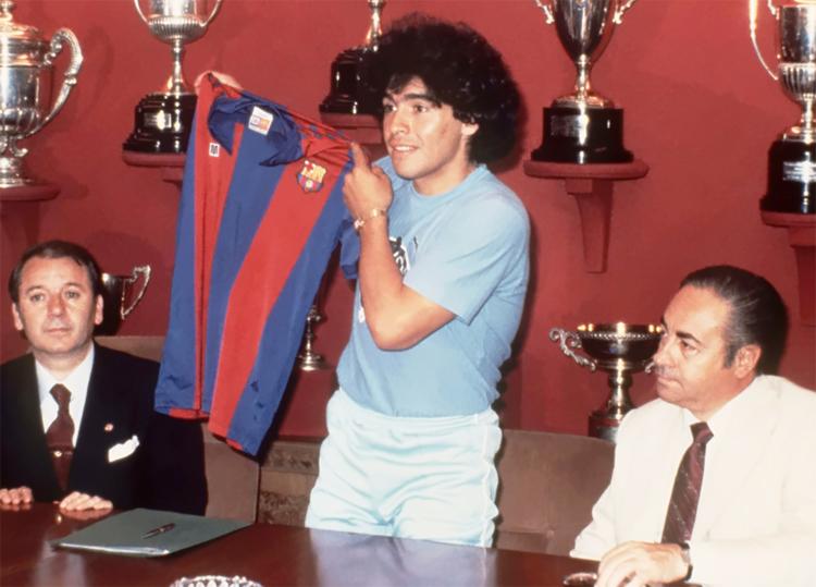 دیگو مارادونا انتقال ها