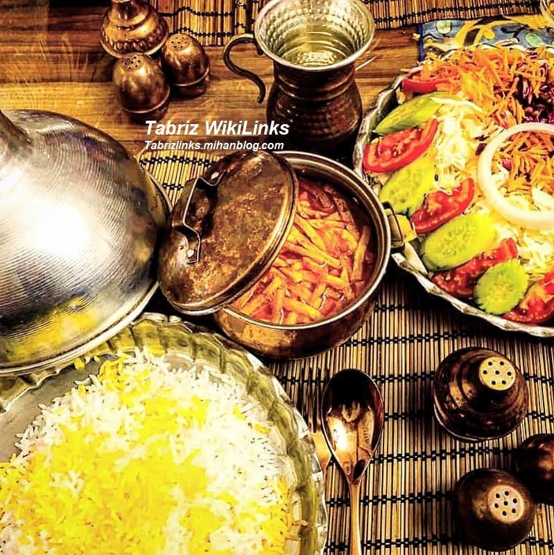 غذای تبریز