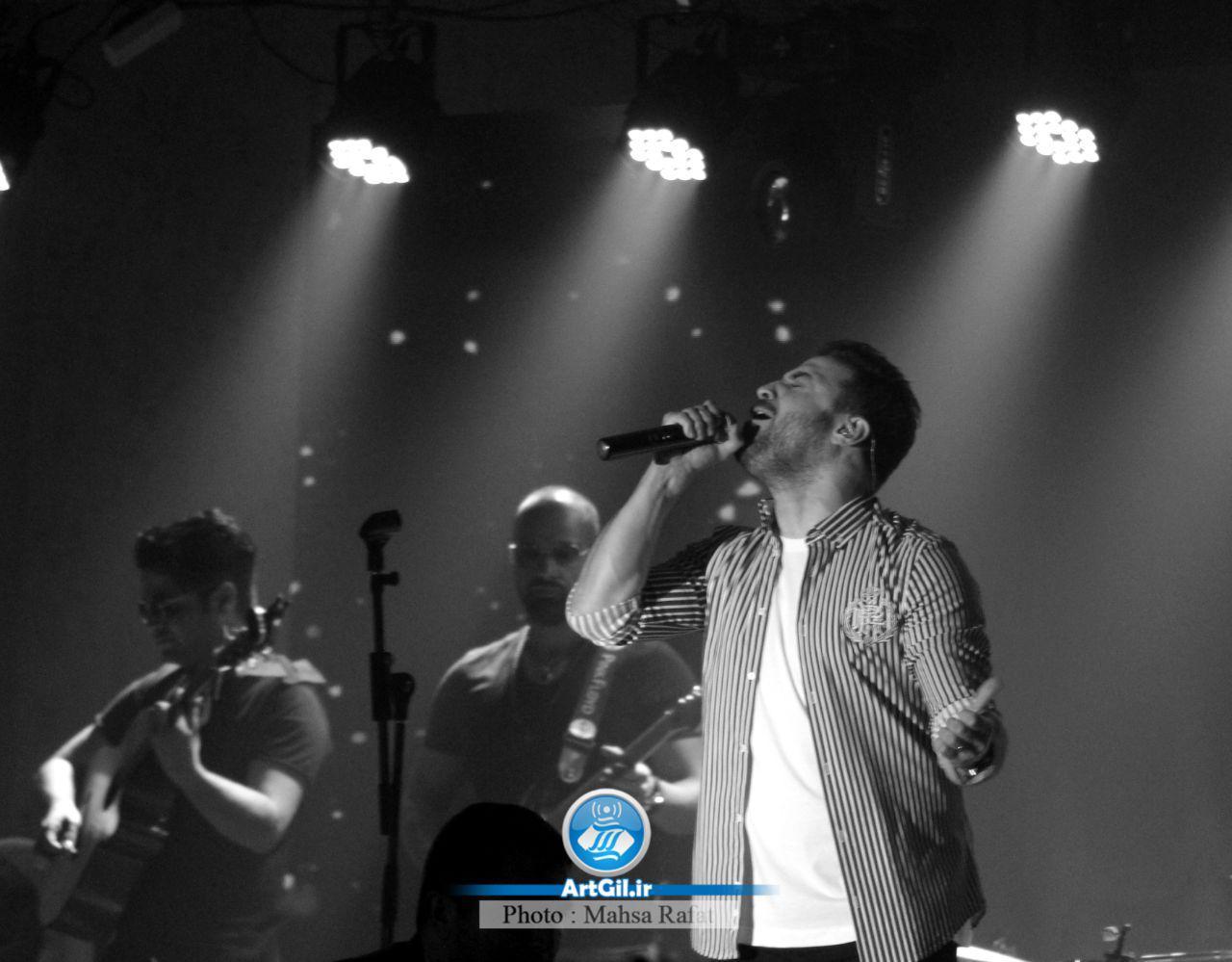 گزارش تصویری از کنسرت بابک جهانبخش