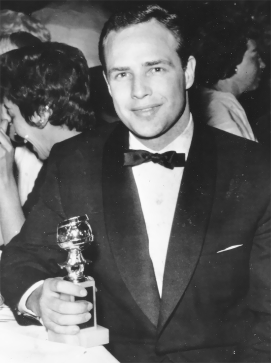جایزه گلدن گلوب مارلون براندو