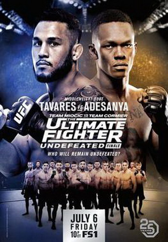 نتایج رویداد :  The Ultimate Fighter 27 Finale