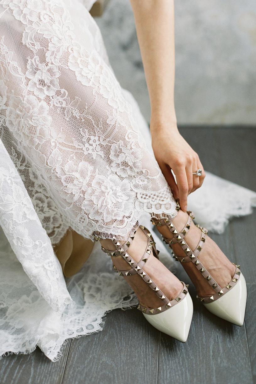 کفش عروس عروسی زیبا لباس عروش پاشنه بلند