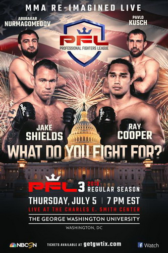 دانلود رویداد ام ام ای | PFL 3.Shields vs Cooper+تک مبارزه