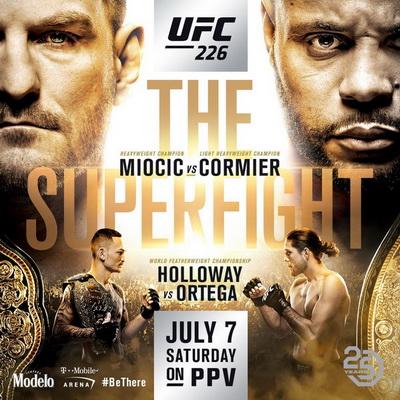 دانلود یو اف سی 226 | UFC 226: Miocic vs. Cormier