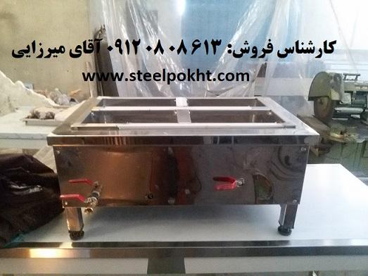 گرمخانه رومیزی شیشه ایی برقی
