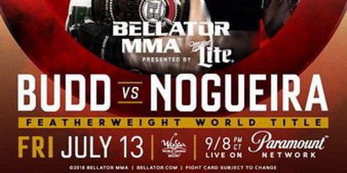 دانلود مسابقات بلاتور202 |  Bellator 202: Budd vs. Nogueira+تک مبارزه