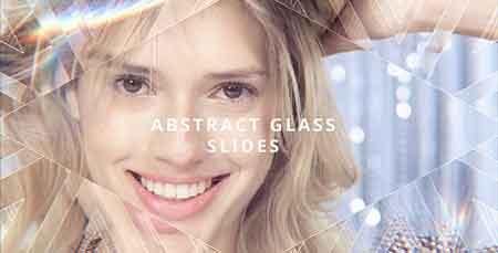 پروژه آماده افترافکت : Abstract Glass Slides