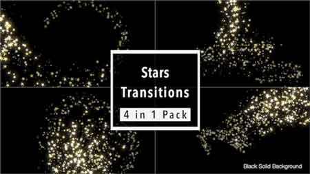 مجموعه ویدئو ترنزیشن فوتیج ستاره ای جدید