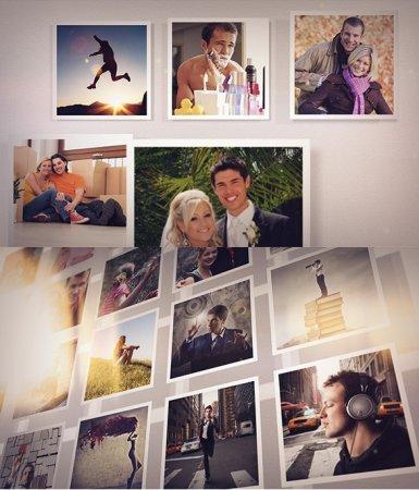 دانلود پروژه آماده افتر افکت-Modular Photo Gallery Kit