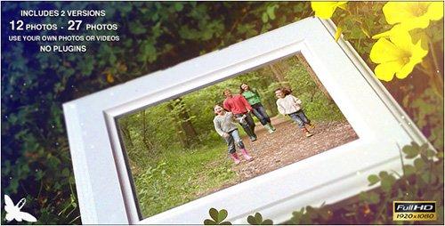 دانلود پروژه آماده افترافکت : Spring Family Slideshow