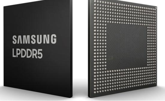 چیپ رم موبایل سامسونگ LPDDR5 دارای سرعت 6400 مگابیت بر ثانیه